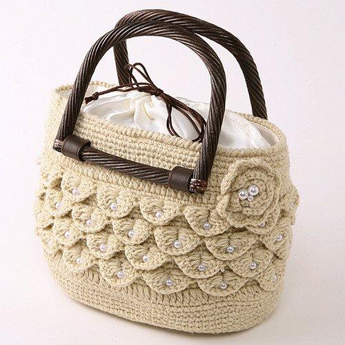 Схемы вязания крючком сумок Вязание.