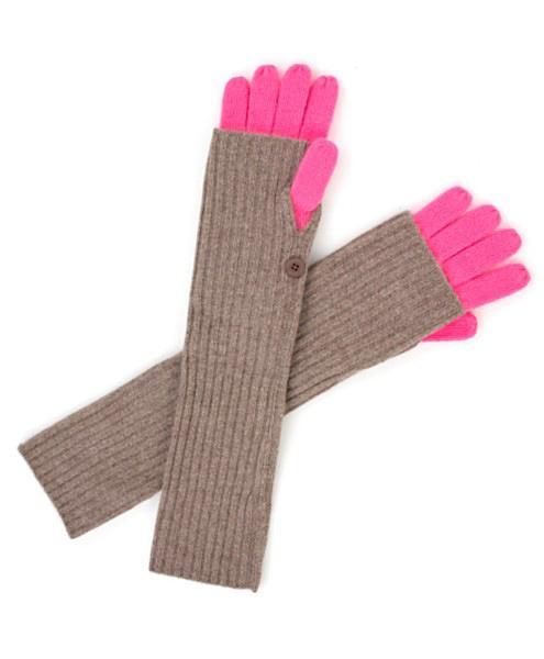 Вязание варежек и перчаток как